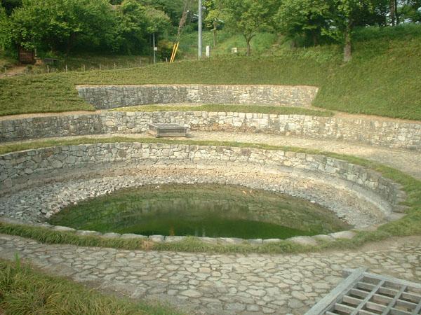 金山城日の池
